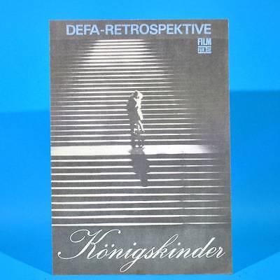 """2346 Film Für Sie 10/1975 DDR """"Königskinder"""" Annekathrin Bürger A. Mueller-Stahl"""