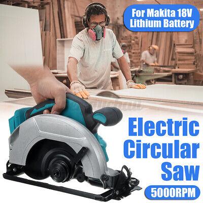 Akku Handkreissäge Kreissäge Säge 5000RPM 180mm Für Makita 18V Lithium Batterie
