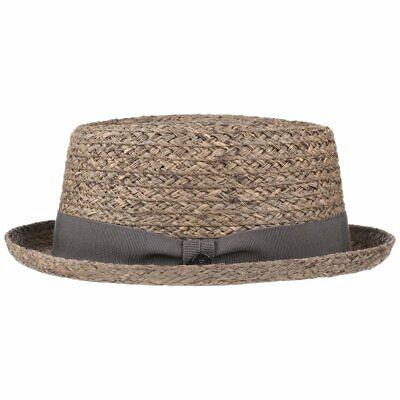 LIERYS Burney Porkpie Raffiastroh Strohhut Sommerhut Sonnenhut Hüte