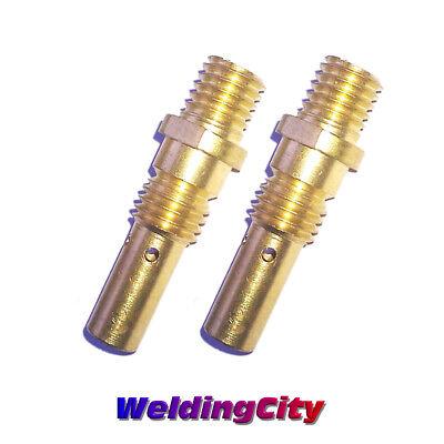 2-pk Gas Diffuser 35-50 For Tweco Mini1 Lincoln Magnum 100l Mig Welding Gun