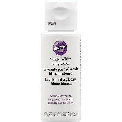 Wilton White-White Colouring Icing Whitener Cup Cake Baking Decorating Colour