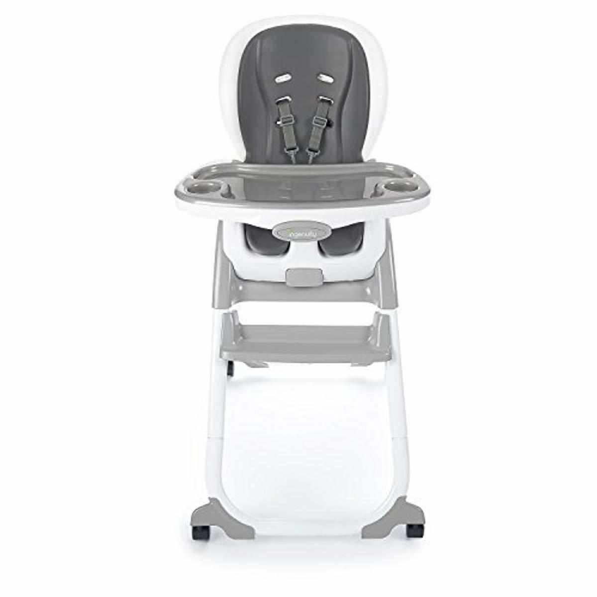 La silla Alta Portátil De Viaje Lavable Booster Asiento de bebé con correas del niño SA