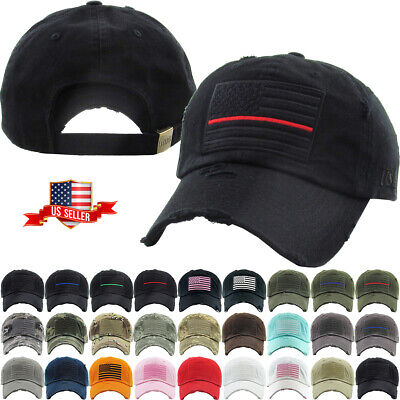 Tactical Operator Hat Special Forces USA Flag Army Military