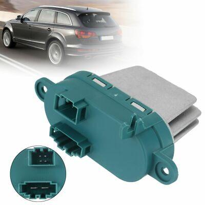 Blower Fan Motor Heater Resistor Fan Speed Controller For Audi Q7 VW Touareg