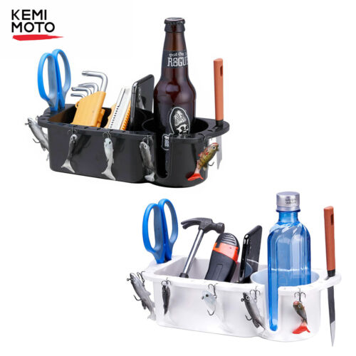 Fishing Tool Holder & Tackle Marine Boat Organizer Caddy Cup Drink Phone Holder