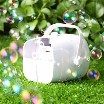 1byone Portable Automatic Bubble Machine 2 Speeds High Output For Party DJ Stage