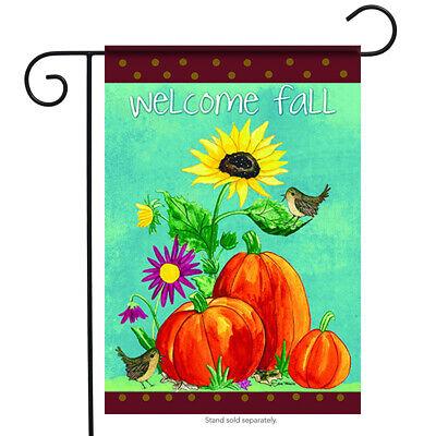 Welcome Fall Garden Flag