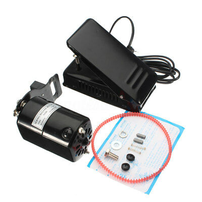 1.0 AMPS UNIVERSAL HOME SEWING MACHINE MOTOR & FOOT PEDAL SI