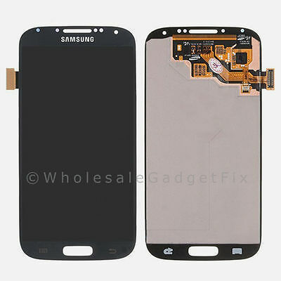 OEM Black Samsung Galaxy S4 IV LCD Display Touch Digitizer Screen Assembly i9500 on Rummage
