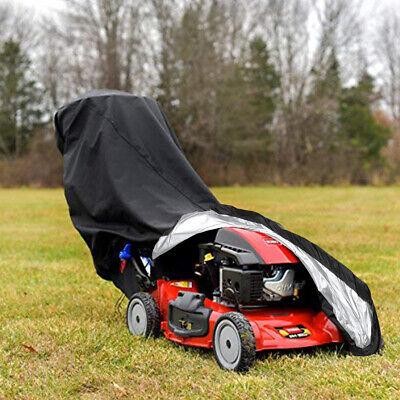 Waterproof Lawn Mower Cover 1.9m X 0.6m X 1.1m Universal Gardening Rain Cover UK
