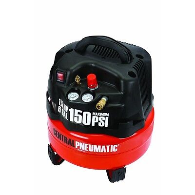 6 Gallon 1.5 Hp 150 Psi Professional Air Compressor Portable Free Fedex From Usa
