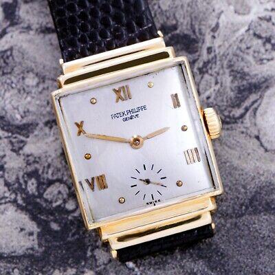 18K Pink Gold Patek Philippe Luxury Watch CA1930s