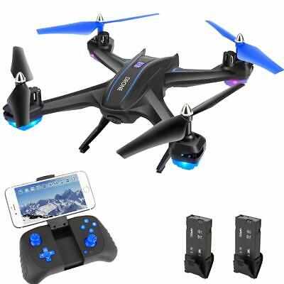 Drone Quadcopter with WiFi 720P HD Camera, HALOFUNO RC Drone Helicopter with Voi