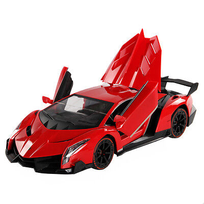 1 14 Lamborghini Veneno Rc Car Gravity Sensor Dangling Radio Remote Control New