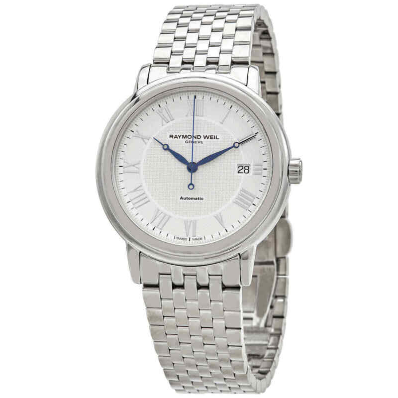 Raymond Weil Maestro Automatic Silver Dial Men Watch 2837-ST-00308