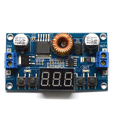 5a Digital Control Dc-dc Step-down Power Buck Module 5-36v To 1.2-32v