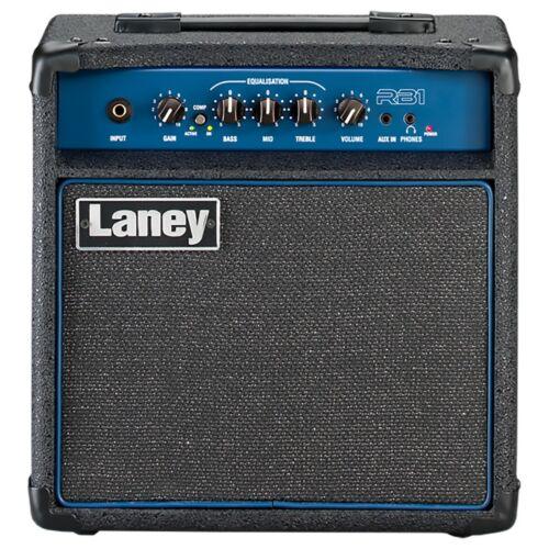 Laney 15W Bass Guitar Amplifier - Black - RB1