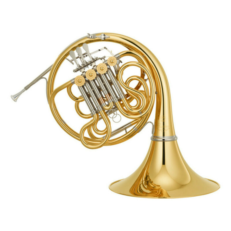 Yamaha Model YHR-671D Double French Horn with Detachable Bell BRAND NEW