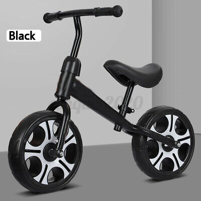 "12"" Kids Balance Bike No Pedal Toddler Bicycle Adjustable Seat Walking Xmas Gift"