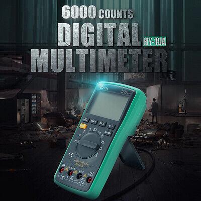 Automatic Digital Multimeter Voltmeter Ammeter Acdc Ohmmeter Diode Resistence