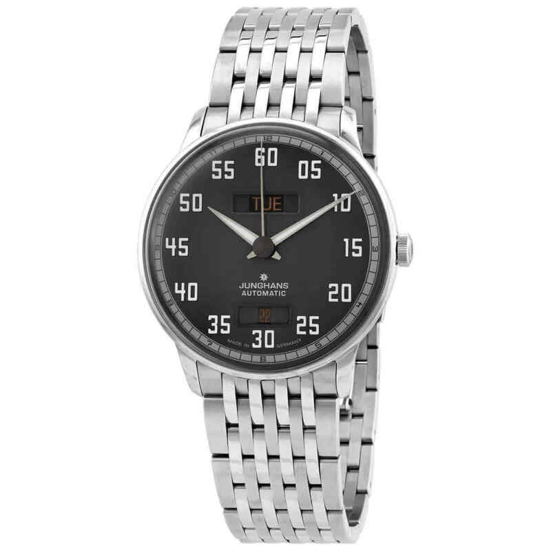 Junghans Meister Driver Day Date Men Watch 027/4722.45