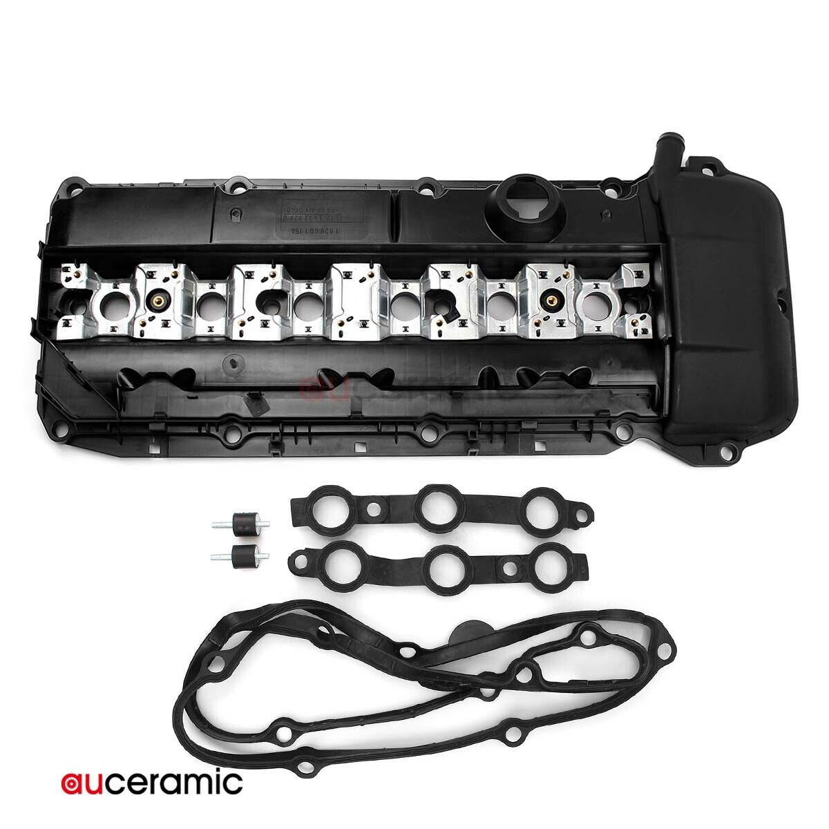 SET of 6 Engine Valve Cover Nuts Fits BMW X3,X5,Z4,325//330Ci,525//530i