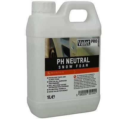 ValetPRO pH Neutral Snow Foam Vorwäsche Shampoo 1 Liter