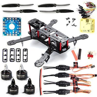 Mini 250 3K Carbon Fiber FPV Quadcopter Frame Kit Motor 12A ESC Propeller RC005