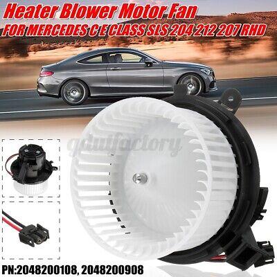 HEATER BLOWER MOTOR FAN FOR MERCEDES C E CLASS SLS 204 212 207 197 #2048200108
