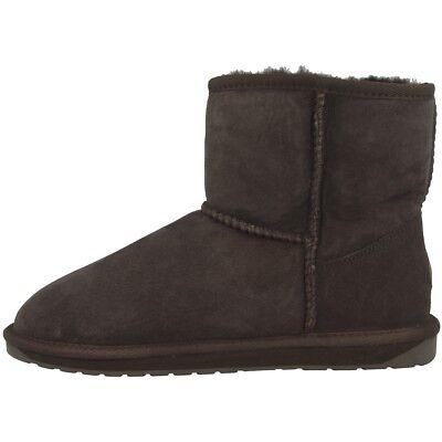 EMU Australia Stinger Mini Women Damen Schuhe Boot Stiefel chocolate W10003-E011