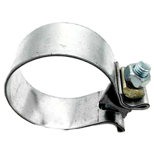 """2.5/"""" 2 1//2/"""" Inch 63mm Stainless Aluminized Steel Band Exhaust O Clamp"""