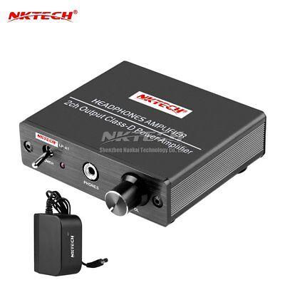 NKTECH LP-A1 Hi-Fi Stereo Audio Digital Headphone Amplifier 2-CH Class-D Power
