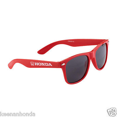 Genuine OEM Honda Lifestyle Collection Red Malibu Sunglasses Shades