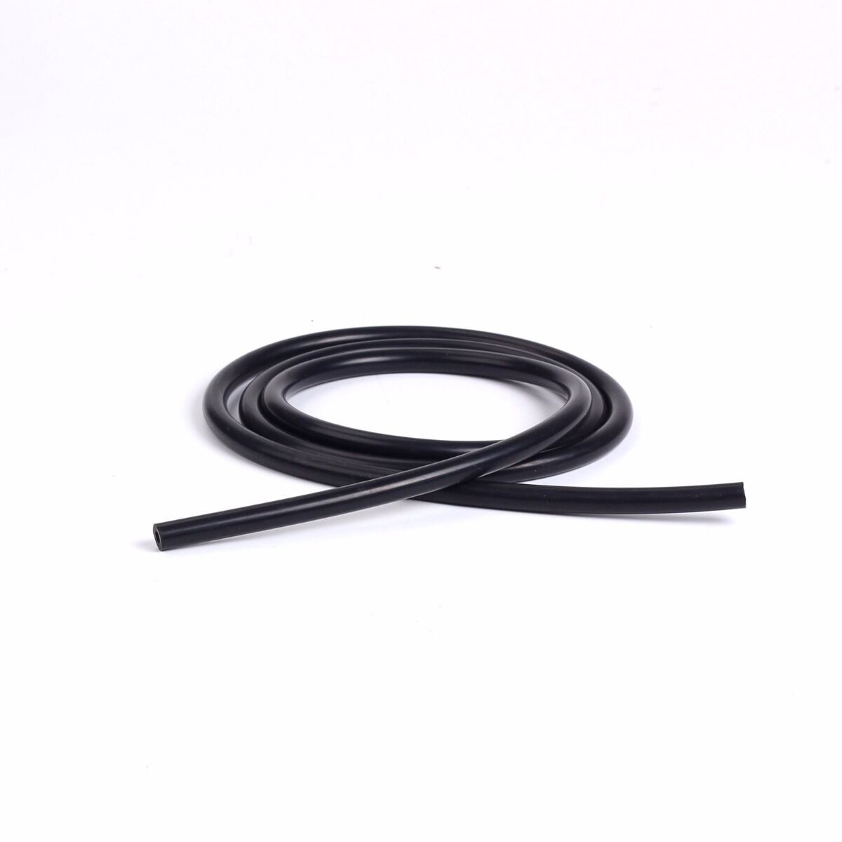 Inner Diameter Silicone Vacuum Hose by Foot 3mm Black 0.12 inches
