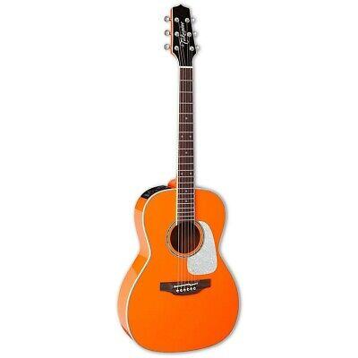 Takamine CP3NY OR Gloss Orange New Yorker Acoustic Guitar + Case B-Stock CP3 NY
