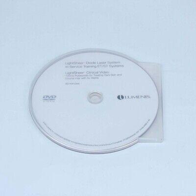 Lumenis Lightsheer Etst Clinical In-service Training Video Dvd 200750-04063-01