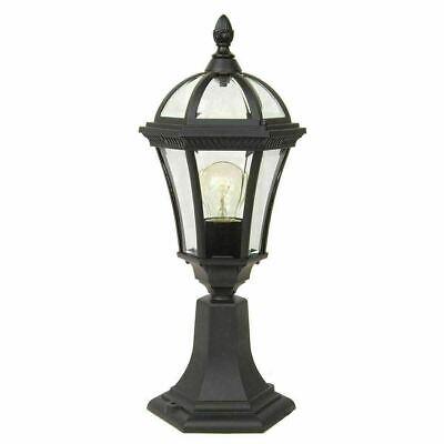 Garden Zone Ledbury Pedestal Lantern Light