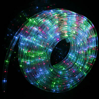 50' 100' 150' 300' LED Rope Light Home Outdoor Christmas Decorative Party 7Color (Christmas Lights Outdoor)