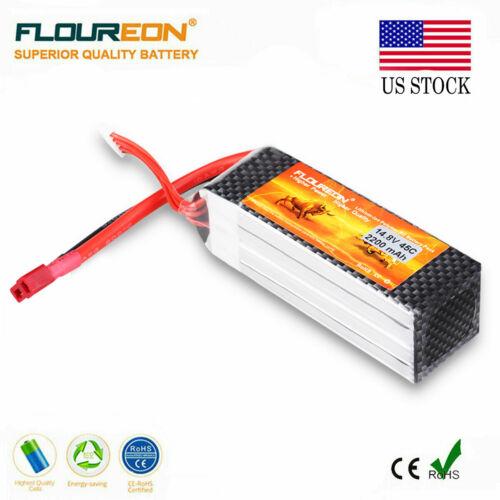Floureon 3300mAh 2S1P 7.4V 35C LiPo Battery Deans Plug for R
