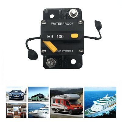 Us 100150 Amp Circuit Breaker Solaraudiocarrv With Manual Reset Waterproof