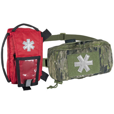 Helikon Army Patrol Modular Individual Med Kit EMT Survival Pouch A-TACS iX Camo, used for sale  United Kingdom