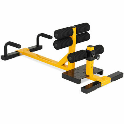 Popsport Sissy Squat Machine 3-in-1 Sit Up Machine Sissy Squat Exercise Equipment Push Up Ab Workout Home Gym Machine