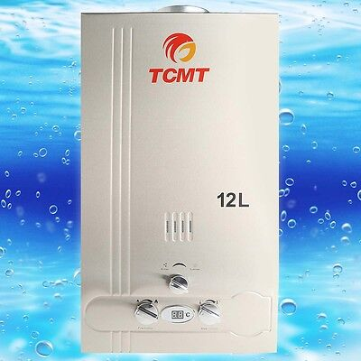12L Natural Gas Tankless Hot Water Heater 3 2Gpm Instant Home Bathroom Boiler
