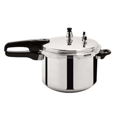 New 6-Quart Aluminum Pressure Cooker Fast Cooker Canner Pot Kitchen