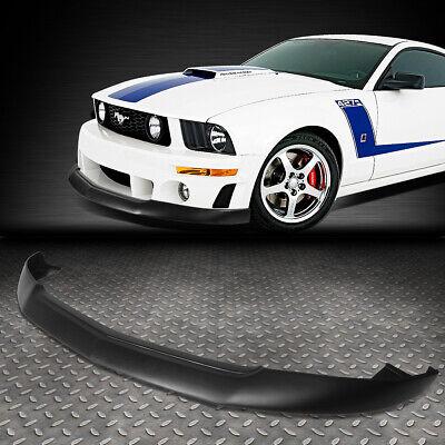 Spoiler Kit Mustang - FOR 2005-2009 FORD MUSTANG GT FRONT BUMPER LIP SPLITTER CHIN SPOILER BODY KIT
