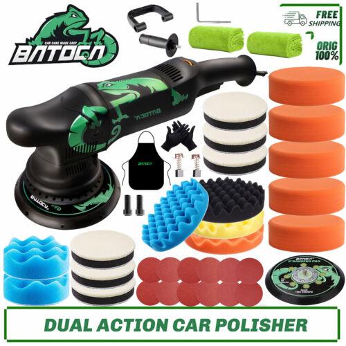 "BATOCA Dual Action Car Polisher Buffer Sander DA Polishing Machine 6"" Sponge Pad"