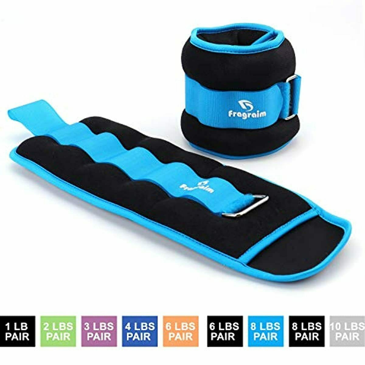 Ankle Weights for Women, Men and Kids - Strength Training Wr