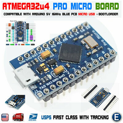 Atmega32u4 Pro Micro Controller Board For Arduino Pro Micro 5v Replace Atmega328