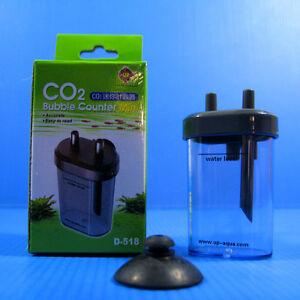 Co2 Bubbles Counter for Aquarium Plant Moss Solenoid Regulator Diffuser Atimozer