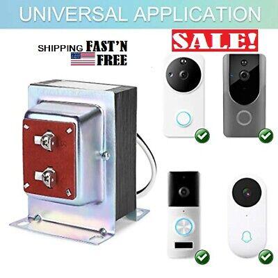 Doorbell Transformer for, Ring Video Pro, Nest 24V 40VA Thermostat, Power Supply